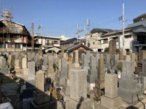 佃霊園(大阪市西淀川区)のお墓