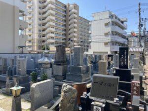 南宮原墓地のお墓
