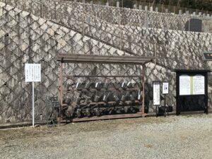 大林寺霊苑(宝塚市)のバケツ置き場