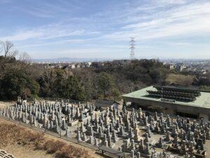 大林寺霊苑(宝塚市)の墓地の様子