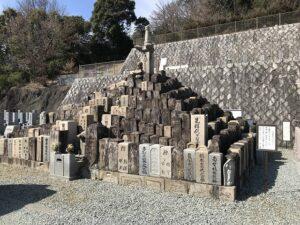 大林寺霊苑(宝塚市)の無縁塚