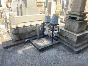 日の出町墓地のお墓