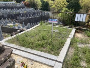 滝木間・畑中共同墓地(四条畷市)のお墓