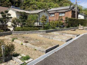 平井墓地(宝塚市)の空き区画