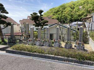平井墓地(宝塚市)の軍人さんの墓