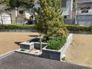 平井墓地(宝塚市)の水場