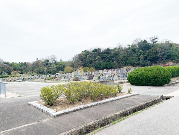 鵯越墓園のあじさい地区へのアクセス