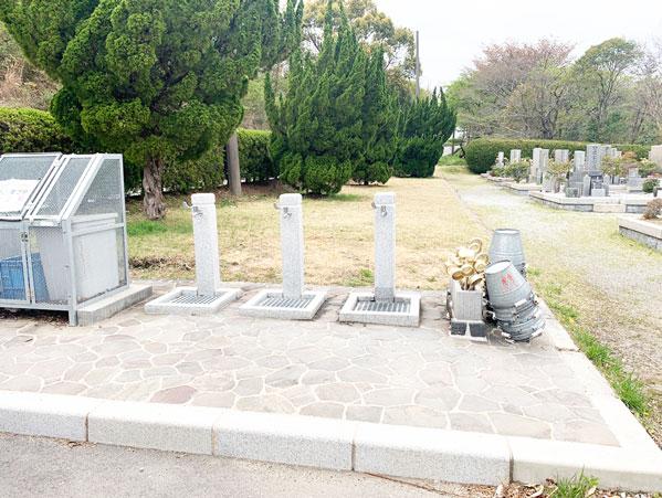鵯越墓園のあかしや地区へのアクセス