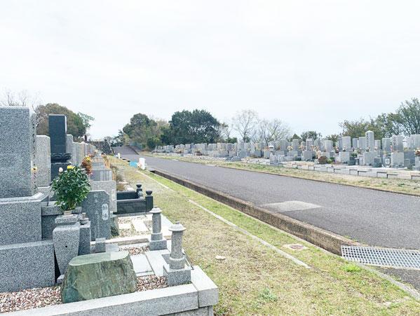 鵯越墓園のふじ地区へのアクセス