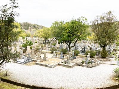 鵯越墓園のひらど地区へのアクセス