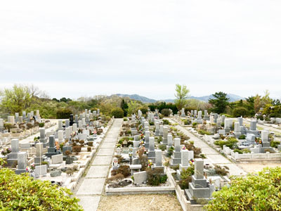 鵯越墓園のきりしま地区へのアクセス