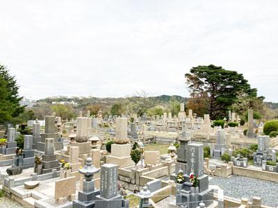 鵯越墓園のくちなし地区へのアクセス