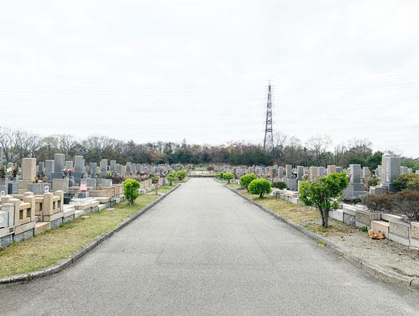 鵯越墓園のまさき地区へのアクセス