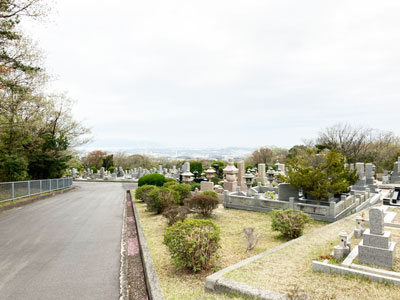 鵯越墓園のもくれん地区へのアクセス