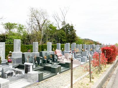 鵯越墓園のもくせい地区へのアクセス