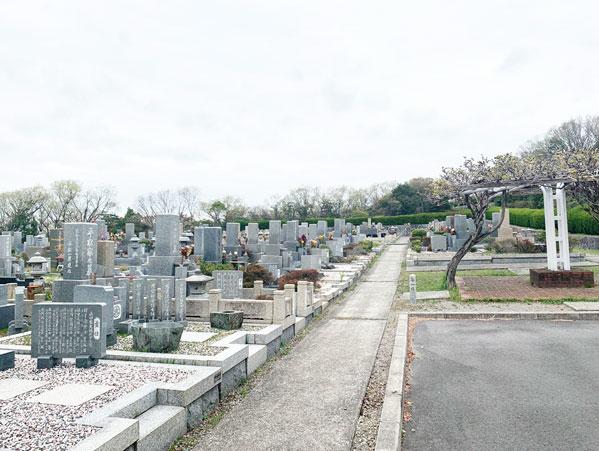 鵯越墓園のなんてん地区へのアクセス