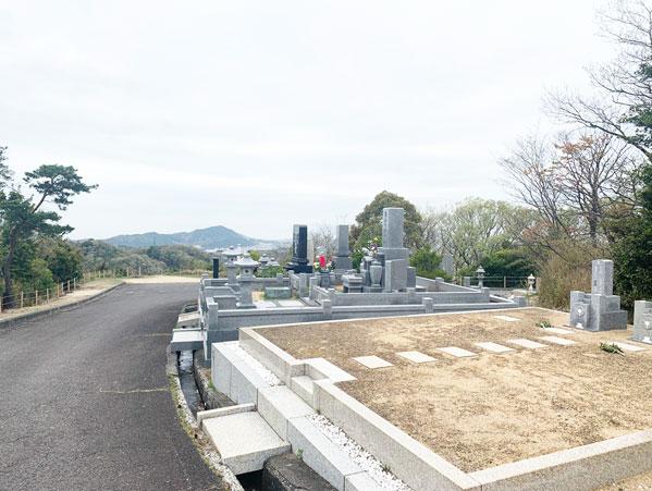 鵯越墓園の参道地区へのアクセス