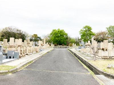 鵯越墓園のさざんか地区へのアクセス