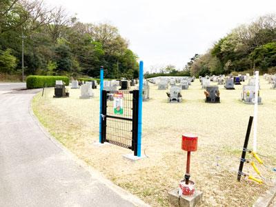 鵯越墓園の芝生地区へのアクセス