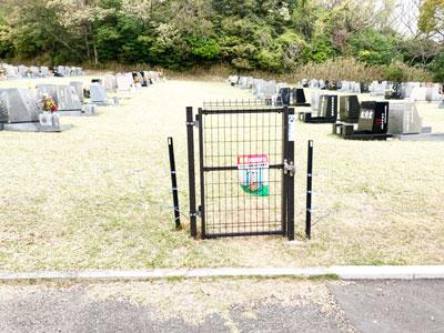 鵯越墓園新芝生地区へのアクセス