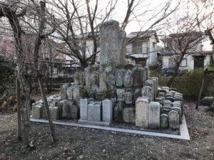小浜共同墓地(宝塚市)の無縁塚