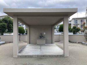 丸橋墓地(宝塚市)の迎え地蔵さん