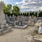 中筋墓地(宝塚市)の墓地の様子