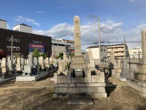 中筋墓地(宝塚市)の慰霊塔