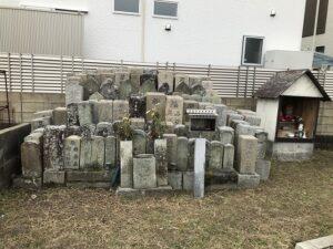 大窪墓地(明石市)の無縁さん