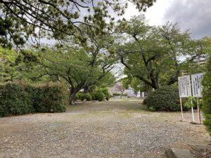才田墓地(宝塚市)の墓地の様子