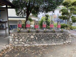 才田墓地(宝塚市)の六地蔵さん