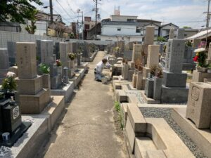 荒本春宮墓地(東大阪市)のお墓