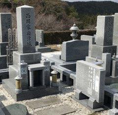 大阪北摂霊園で文字の彫刻をさせていただきました(西川様)