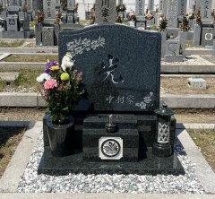 安倉霊園でお墓を建立させていただきました(中村様)