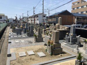 旧住道共同墓地(大阪市東住吉区)のお墓
