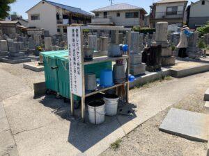 長曾根黒土共同墓地(堺市北区)のお墓