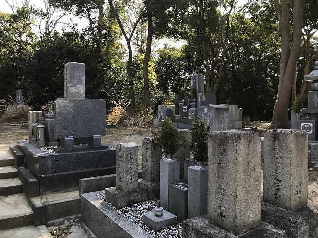 東江井墓地(明石市)