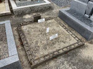 北村住人会伊丹坂墓地(伊丹市)