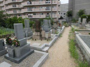 食満墓地(尼崎市)のお墓