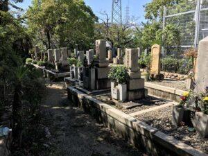 久々知西墓地(尼崎市)