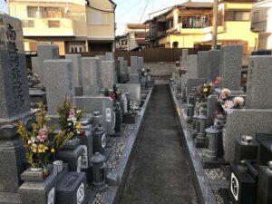 満福寺墓地(明石市魚住町)