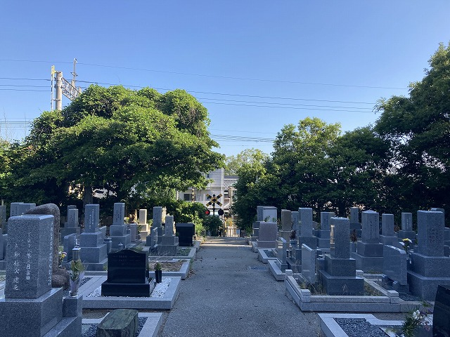 郡家西墓地(東灘区)のお墓
