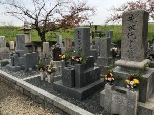 初島・東園田墓地(尼崎市)のお墓