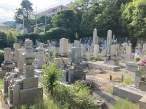 北畑墓地(神戸市東灘区)のお墓