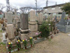 西難波墓地(尼崎市)のお墓