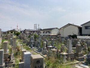吹田市川面墓地(吹田市)のお墓