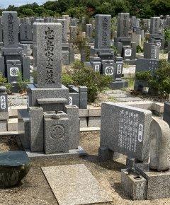 明石市立石ケ谷墓園で文字の彫刻をさせていただきました(忠島様)