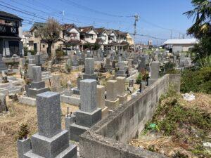 鳥取中墓地(阪南市)のお墓