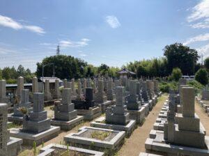 山田中共同墓地(吹田市)のお墓