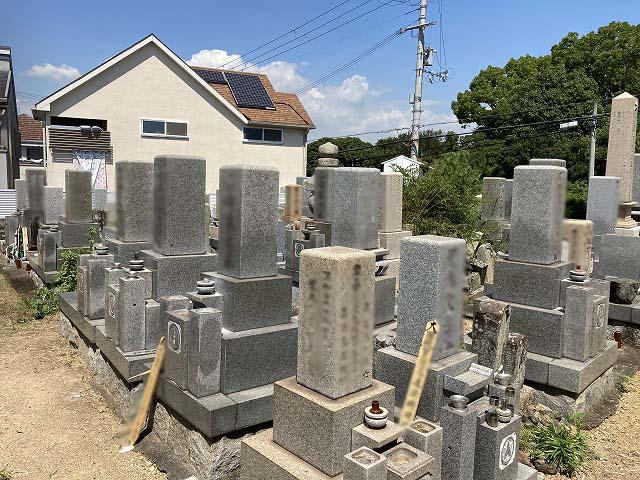 清水茶屋ケ上墓地(明石市)のお墓